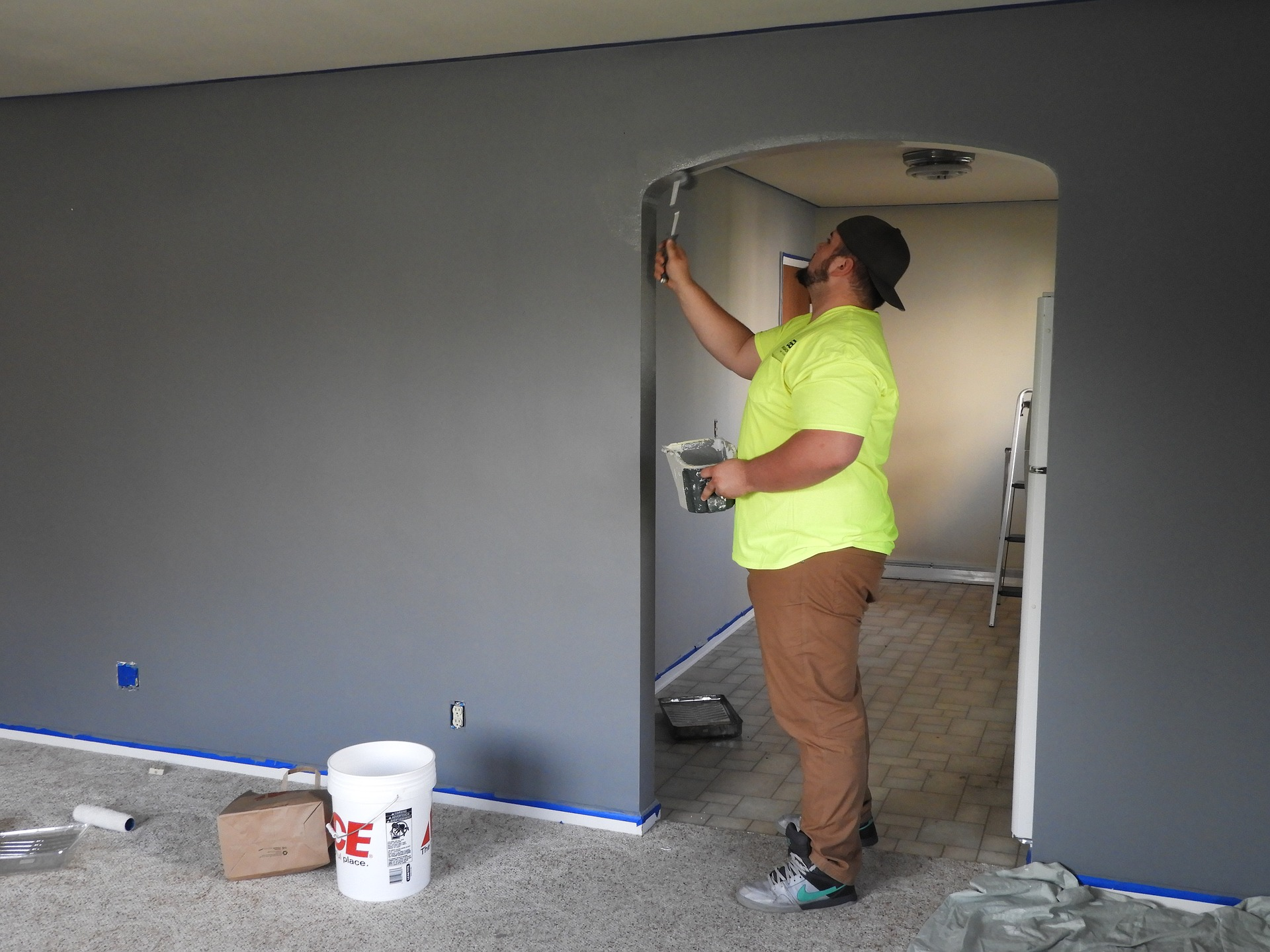 Interior paiting services in Houston